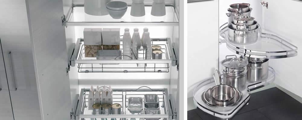 Accesorios a cortes muebles de cocina - Accesorios para armarios de cocina ...